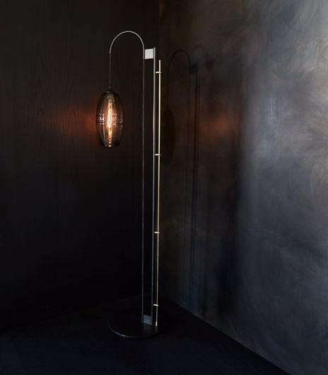Picture of CLEAR BAND FLOOR LAMP