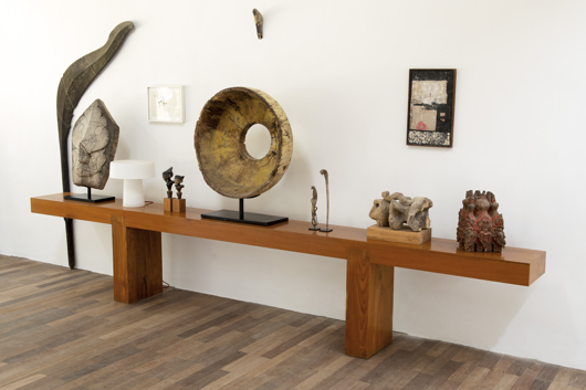 Picture of HUGE TEAK CONSOLE