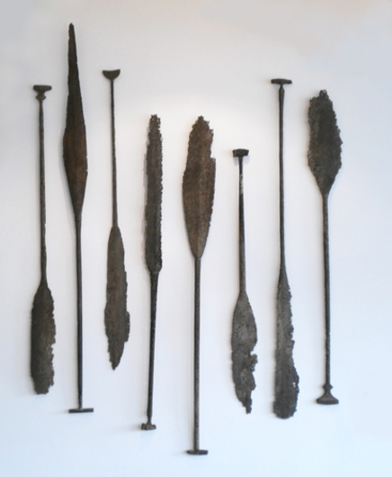 Picture of ANCIENT OARS