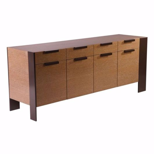 Picture of DR-33E BUFFET WITH FOUR CUPBOARDS AND FOUR DRAWERS ABOVE (WITH FINISHED BACK)