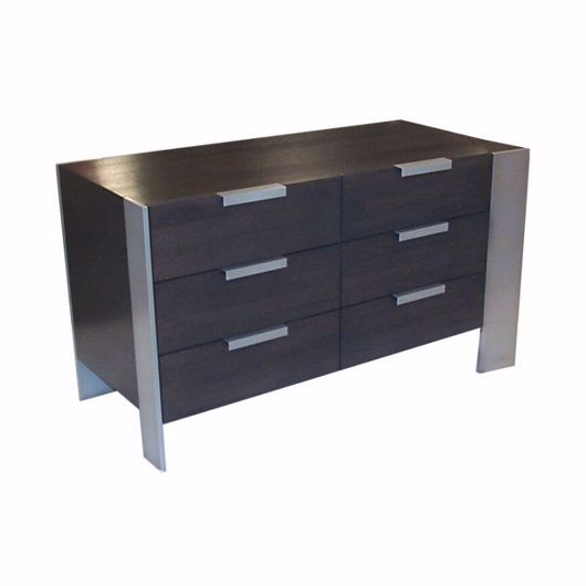 Picture of DR-33H DRESSER WITH 2 BANKS OF 3 DRAWERS