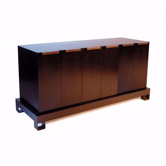 Picture of DR-76D BUFFET WITH THREE CUPBOARDS (WITH FINISHED BACK)