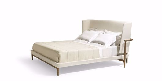 Picture of PEGASO BED FABRIC OR LEATHER UPHOLSTERY