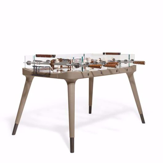 Picture of 90° MINUTO TABLE FOOTBALL COVERED IN SADDLE LEATHER